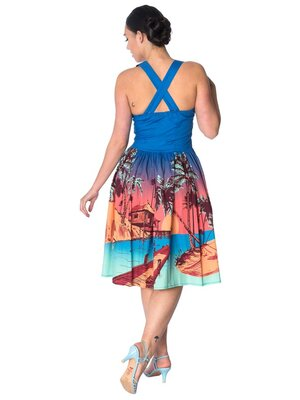 Banned Tropical Strappy Dress