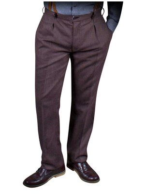 Gentlemans First Choice Collection Hose Braun
