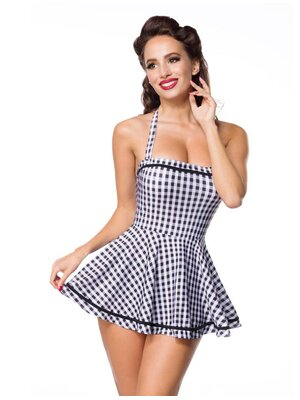 Belsira Retro Badekleid Gingham