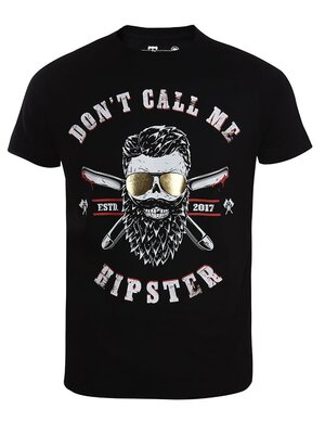 barTbaren Anti Hipster T-Shirt XL