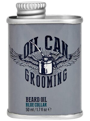 Oil Can Grooming Beard Oil Blue Collar