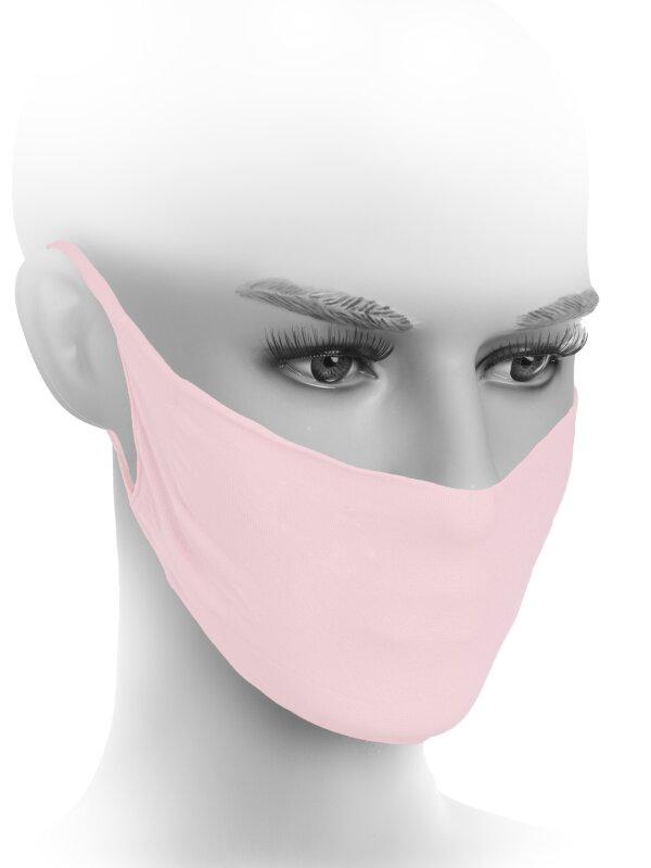 Gesichtsmaske in Pink