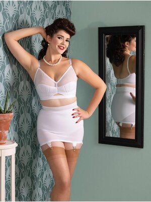 What Katie did Shapewear Mieder Weiß