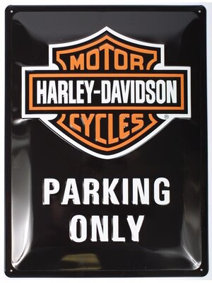 Harley-Davidson Parking Only