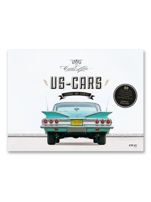US-CARS - LEGENDS AND STORIES PICTORAL BOOK