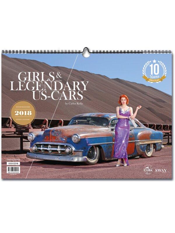 Girls & legendary US-Cars 2018