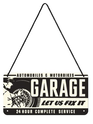 Garage Hängeschild
