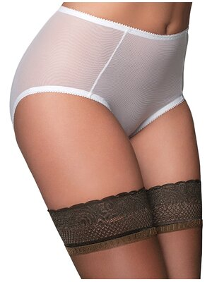 Betty Mesh Knickers Weiss